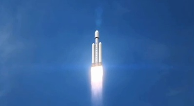 spaceflight now breaking news spacex enters the realm of heavy lift rocketry. Black Bedroom Furniture Sets. Home Design Ideas